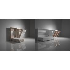 Механизм шкаф-кровати TGS504.1 400N-1200N газ лифт, ножки квадрат