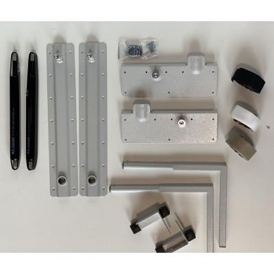 Механизм шкаф-кровати TGS504.2 1400N-2300N газ лифт, ножки квадрат - TGS504.2_2