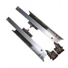 Направляющая скрытого монтажа 18mm L-350 полного выдвижения Tip-on FF80350HX