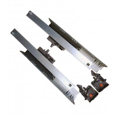 Направляющая скрытого монтажа 18mm L-350 полного выдвижения Tip-on FF80350HX - 92933