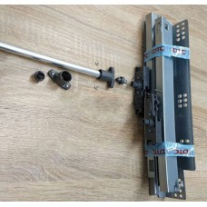Синхронизатор для направляющих Tip-on L=1100мм HT0FH02 (втулка 2шт+держатель2шт+саморез3*6мм4шт)