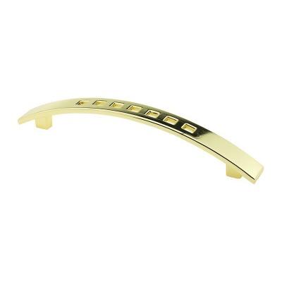 Мебельная ручка D-434/128 G3 золото ручка-дуга DC (SL) - 18908