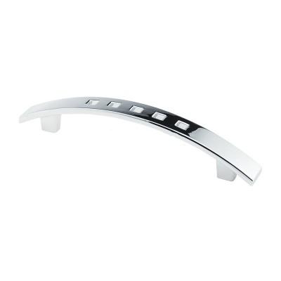 Мебельная ручка D-433/96 G2 хром ручка-дуга DC (OL) - 18088