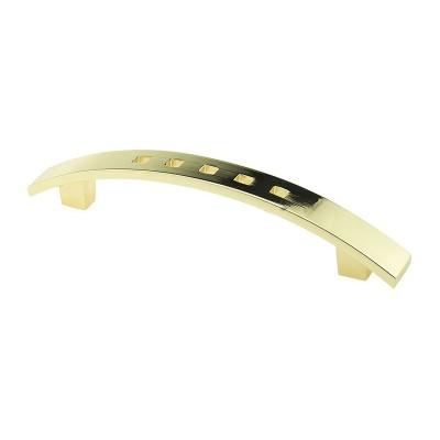Мебельная ручка D-433/96 G3 золото ручка-дуга DC (OL) - 18089