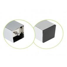 Опора для стола 710 60*60 мм квадратная G2 хром стальное верхнее крепление NG 710-KW 1 DC SL