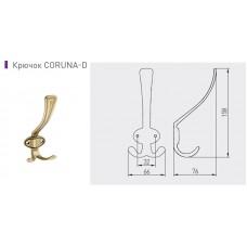 Крючок GTV CORUNA большой, античная латунь