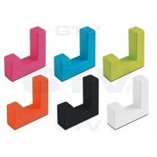 Крючок мебельный K2201 Хром
