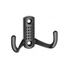 Крючок мебельный GTV B0-K23 малый Черный матовый