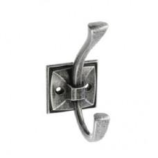 Крючок мебельный GTV MADRYT Античное серебро