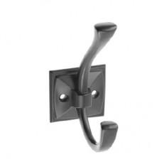 Крючок мебельный GTV MADRYT Черный матовый