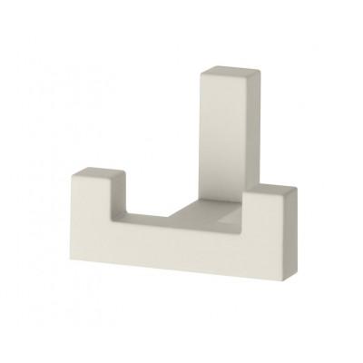 Крючок мебельный K2202 Белый - WZ-K2202-CS