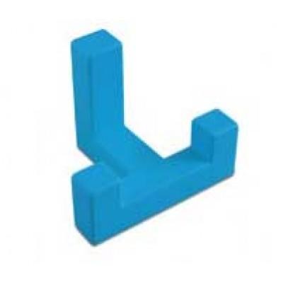 Крючок мебельный K2202 Голубой - WZ-K2202-NB