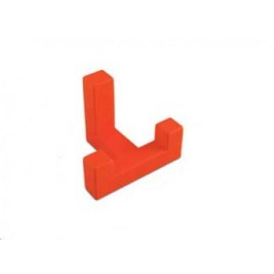Крючок мебельный K2202 Оранжевый - WZ-K2202-PM