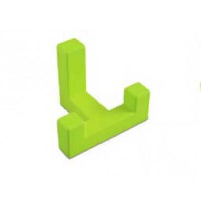 Крючок мебельный K2202 Зелений - WZ-K2202-ZL