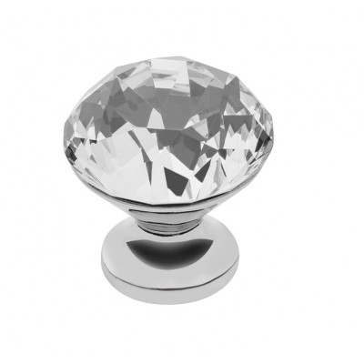 Ручка мебельная Crystal Palace CRPB d 30 Chrome - gz-crpb30-01