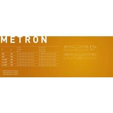 Ручка METRO 256/296 / 18mm Алюминий