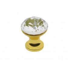 Ручка Crystal Palace CRPB d 25 Золото + Кристалл