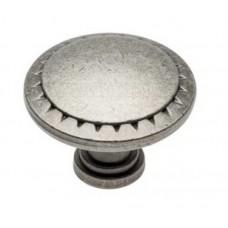 Ручка кнопка PALER Античное серебро