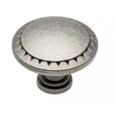 Ручка кнопка PALER Античное серебро - GZ-PALER-1-07