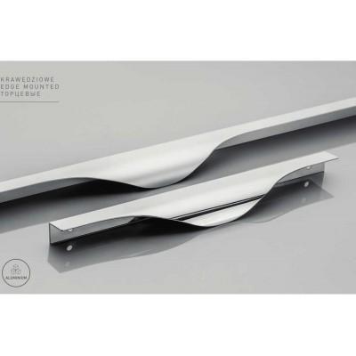 Ручка METRO 256/296 / 18mm Хром - UA-METRO-256-296-18-01