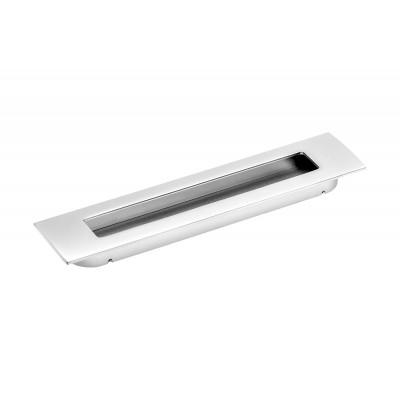 Ручка врезная E6 128 мм Алюминий - uz-e6-128-05
