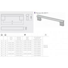 Ручка GTV BO-311 160 мм Черный