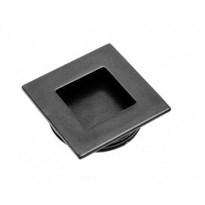 Ручка врезная квадрат d 35 В226 Черная - UZ-00B226-20