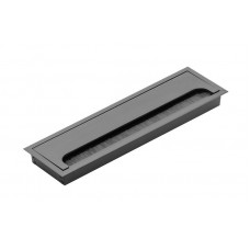 Пропуск для кабеля врезной GTV MERIDA 80х280 черный