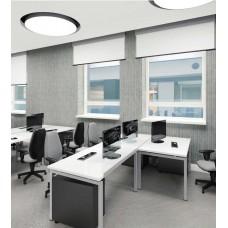 Удлинитель для офиса 60 заземление Schuko на 3 розетки, серый