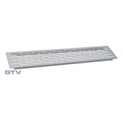 Вентиляционная решетка сталь 100х500 - kk-d50100-06