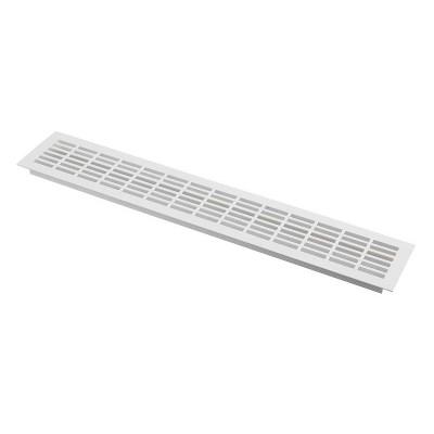 Решетка вентиляционная белая 480х80 - KK-W80800-D1