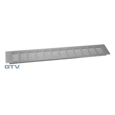 Решетка вентиляционная сталь 80x500 - KK-D50-80-06
