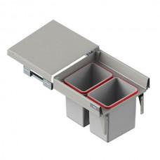 Мусорное ведро REJS Comfort Box 50 H = 350 направляющая L-500 цвет серый