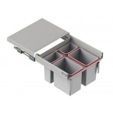 Мусорное ведро REJS Comfort Box 60 H = 350 направляющая L-500 серое