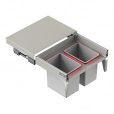 Мусорное ведро REJS Comfort Box 60 H = 410 направляющая L-400 серое