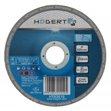 Диск обрезной HOGERT по металлу 125 мм толщина 0,8 мм