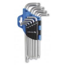 Ключи шестигранные TORX CrV 9 шт