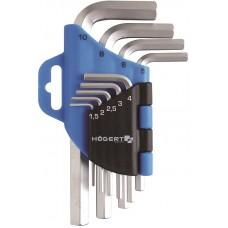Ключи шестиугольные Crv комплект 9 шт