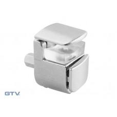 Полкодержатель для стеклянных полок E410 хром