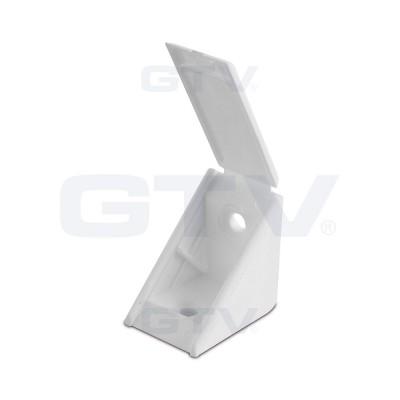 Уголок монтажный одинарный (пластик) Серый - PP-PMONT0M-08