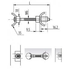 Стяжка для столешниц L-150