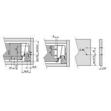Modern box L-450 низкий белый