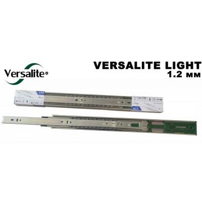 Направляющие шариковые GTV 550 VERSALITE LIGHT с доводчиком (1,2 мм) - PK-L-H45-550-GX