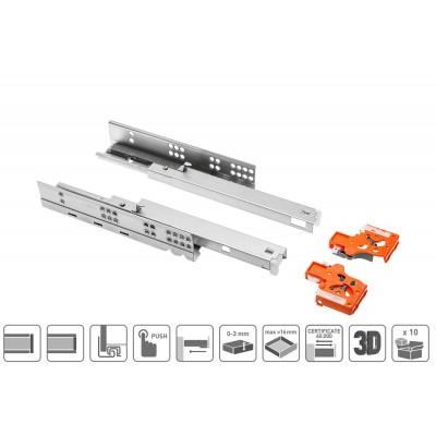 Комплект Modern slide Push to open полн.открывания 450мм - pb-0fpo-450