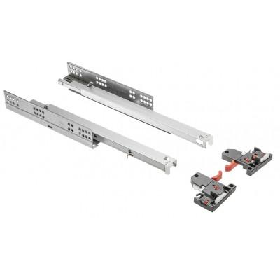Направляющие MODERN SLIDE нижнего крепления полного выдвижения L-450 (16-18 мм) 3D - PB-3D0SHX18-450-H