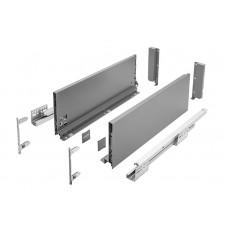 Выдвижная система AXIS PRO l-500 мм высокий H167 Графит