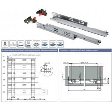 Направляющие MODERN SLIDE нижнего крепления полного выдвижения L-500 (16-18 мм) 3D