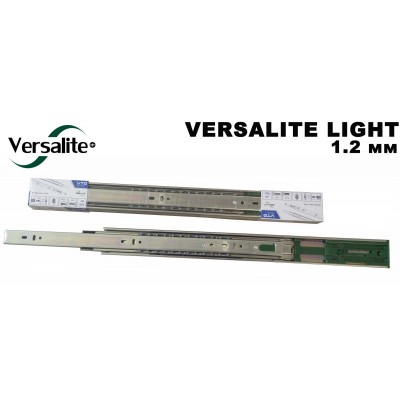 Направляющие шариковые GTV 300 VERSALITE LIGHT с доводчиком (1,2 мм) - PK-L-H45-300-GX