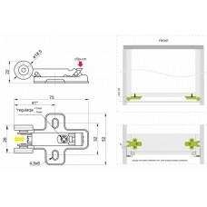 Modern slide Стабилизатор для направляющих