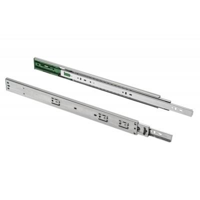 Направляющие шариковые GTV 400 VERSALITE LIGHT с доводчиком (1,2 мм) - PK-L-H45-400-GX